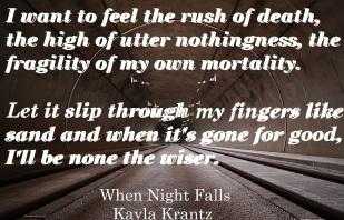 When Night Falls Promo 2