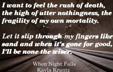When Night Falls Promo 2